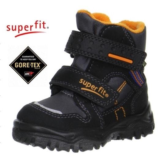 602e9dc7892 Dětská zimní obuv Superfit 1-00044-03 HUSKY1 SCHWARZ MULTI ...