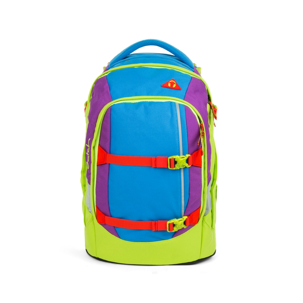 Studentský batoh Ergobag Satch - Flash Jumper - ERGOBAG - Studentské ... d1e5cec222