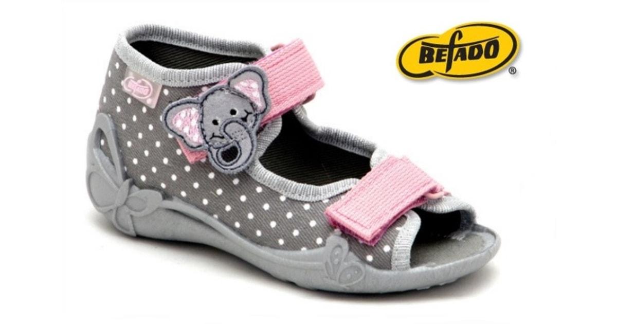 d4c24da8518 Dětská obuv Befado 242P062 - BEFADO - Domácí obuv - Přezůvky