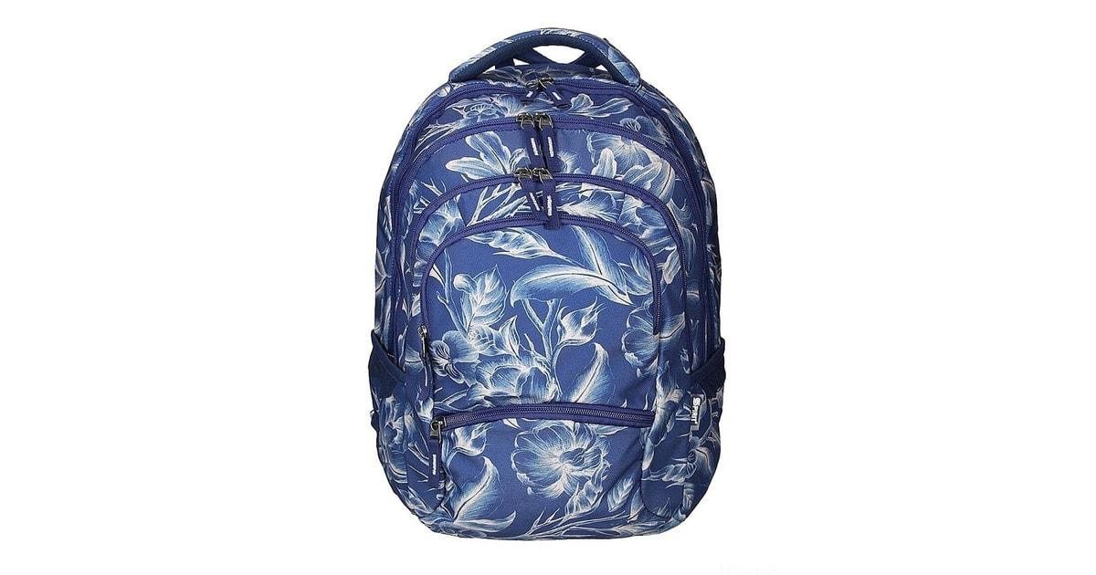 a69a5227725 Studentský batoh SPIRIT HARMONY 01 modrá - EMIPO - Studentské batohy -  Děti