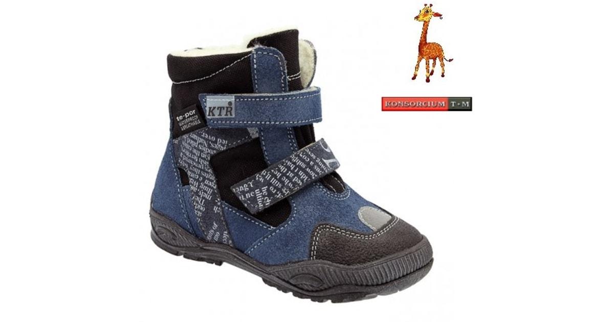 Zimní obuv KTR s membránou 315 1 T granát modrá - KTR KONSORCIUM - Zimní  boty - Dětské boty - MódaDětí.cz a8cb10ad78