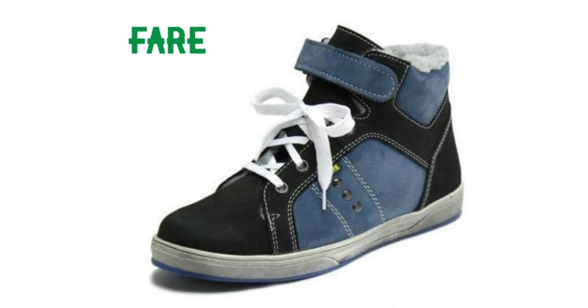 Zimní obuv Fare 2649211 černá modrá - FARE - Zimní boty - Dětské boty -  MódaDětí.cz b5aafb42e0