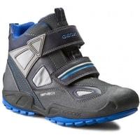 GEOX detské topánky J NEW SAVAGE BOY B A NAVY ROYAL fd1f804297