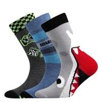 dea6dec793e Dětské obrázkové ponožky s elastanem 057-21-43-V mix barev kluk. 2 dostupné  velikosti
