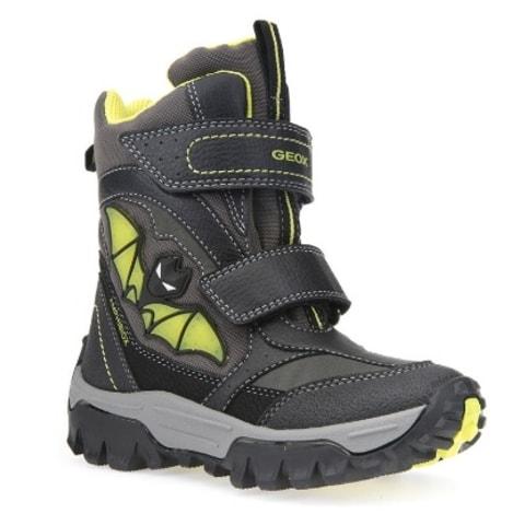 GEOX detské topánky JR LT HIMALAYA B ABX BLACK LIME - GEOX - Zimná ... fad3fb3eb52